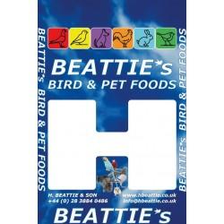 BEATTIE's - Budgie - 25kg