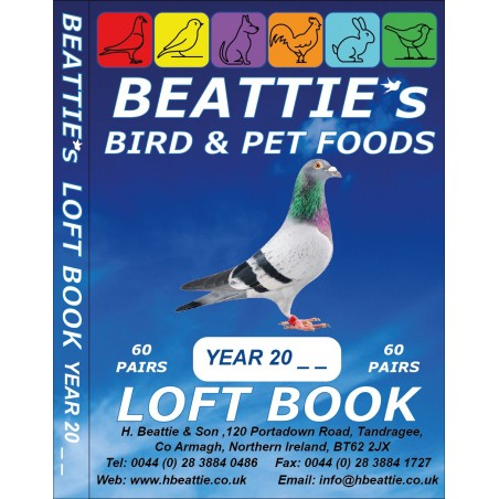 BEATTIE's - Pocket Loft Book - 60 Pairs