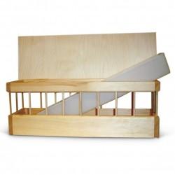 Wooden Feeder Flat Top +...