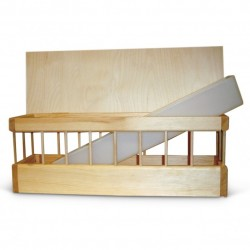 Wooden Feeder Flat Top +...