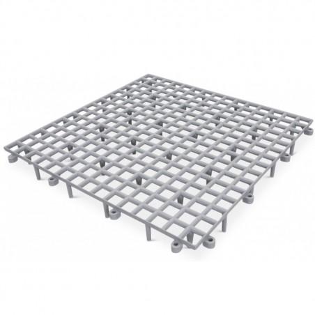 Pigeon Loft Plastic Grey Floor Grill 50 x 50 x 9cm - 1pcs
