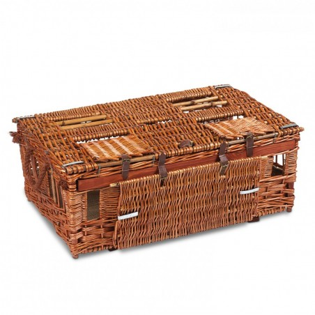 Pigeon Wicker Reed Training Basket English - Large