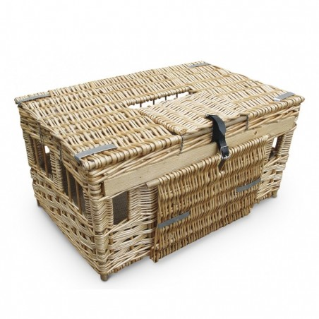 Pigeon Wicker Reed Training Basket English - Small