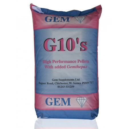 GEM - G10 Pellets - 20kg