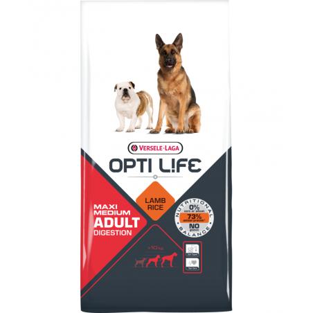 Versele-Laga - OPTI LIFE  - Adult Digestion Medium & Maxi - 1KG