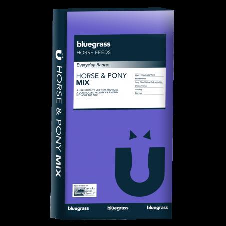 Irwins Bluegrass - 10% Horse & Pony Mix + Calming pack - 20kg